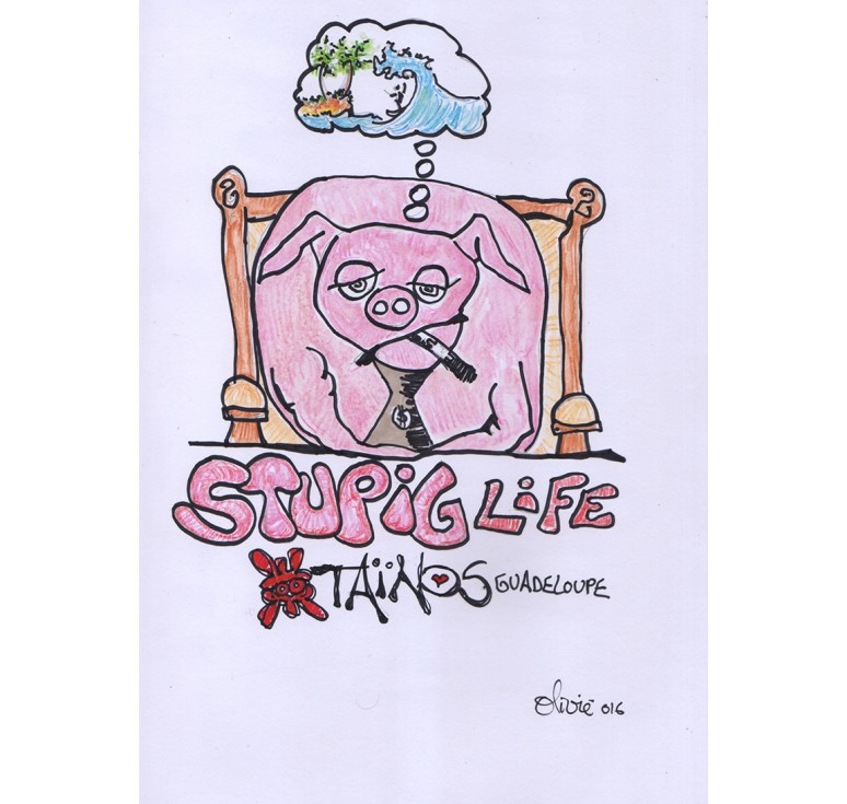 STUPIG LIFE ARTWORK