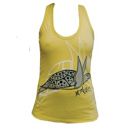 TankTOP Fille YELLOW FLYING TURTLE