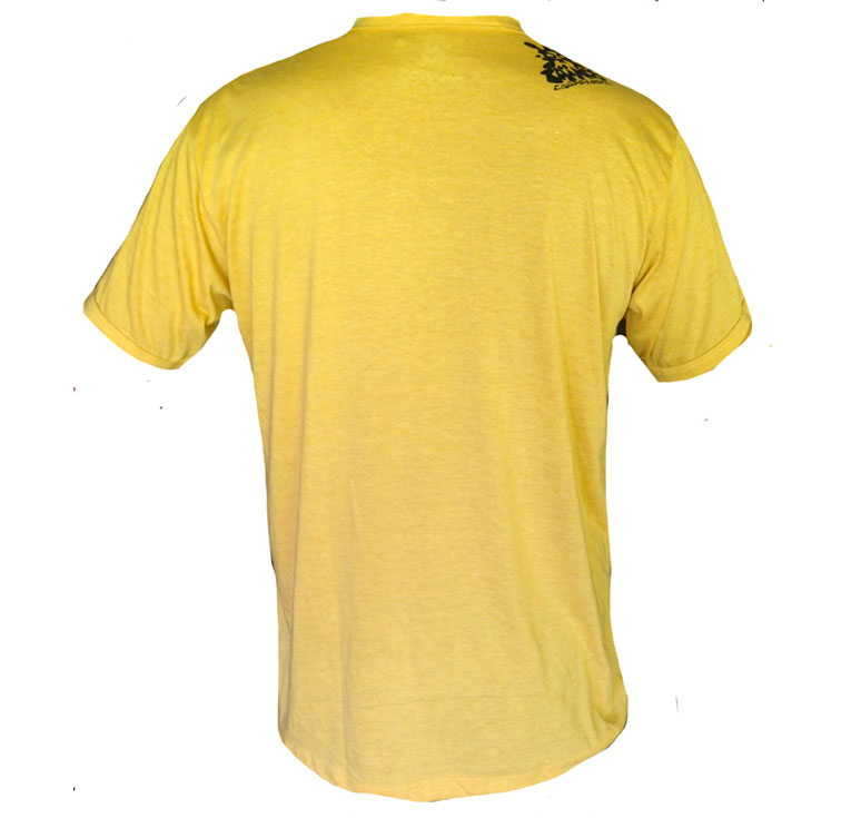 TShirt YELLOW FLYING TURTLE
