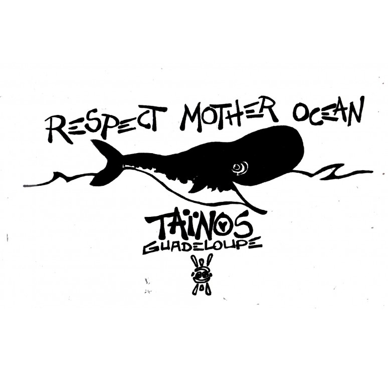 Tee-shirt Taïnos Respect Mother Ocean Kolector