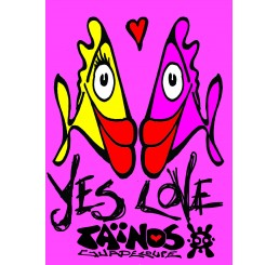 Paréo Taïnos YES LOVE
