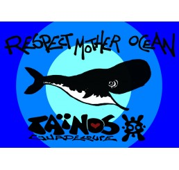 Paréo Taïnos RESPECT MOTHER OCEAN 2017